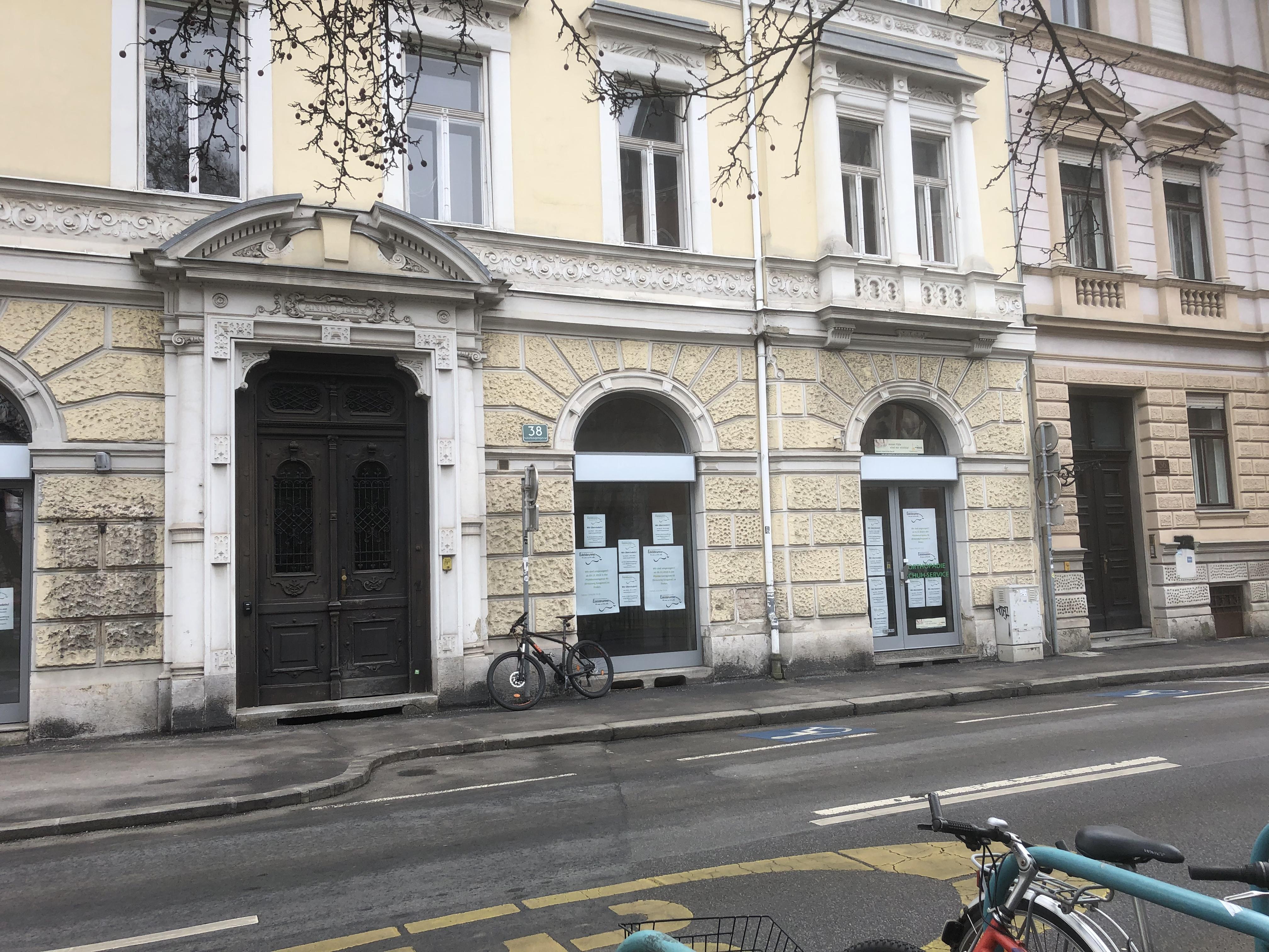 Geschäftslokal oder Büro in der Nibelungengasse