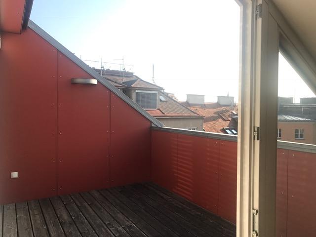 Innenstadtwohnung mit Dachterrasse!